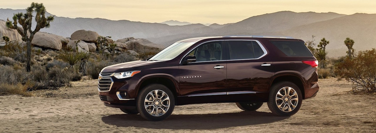 2018 Chevy Traverse Design