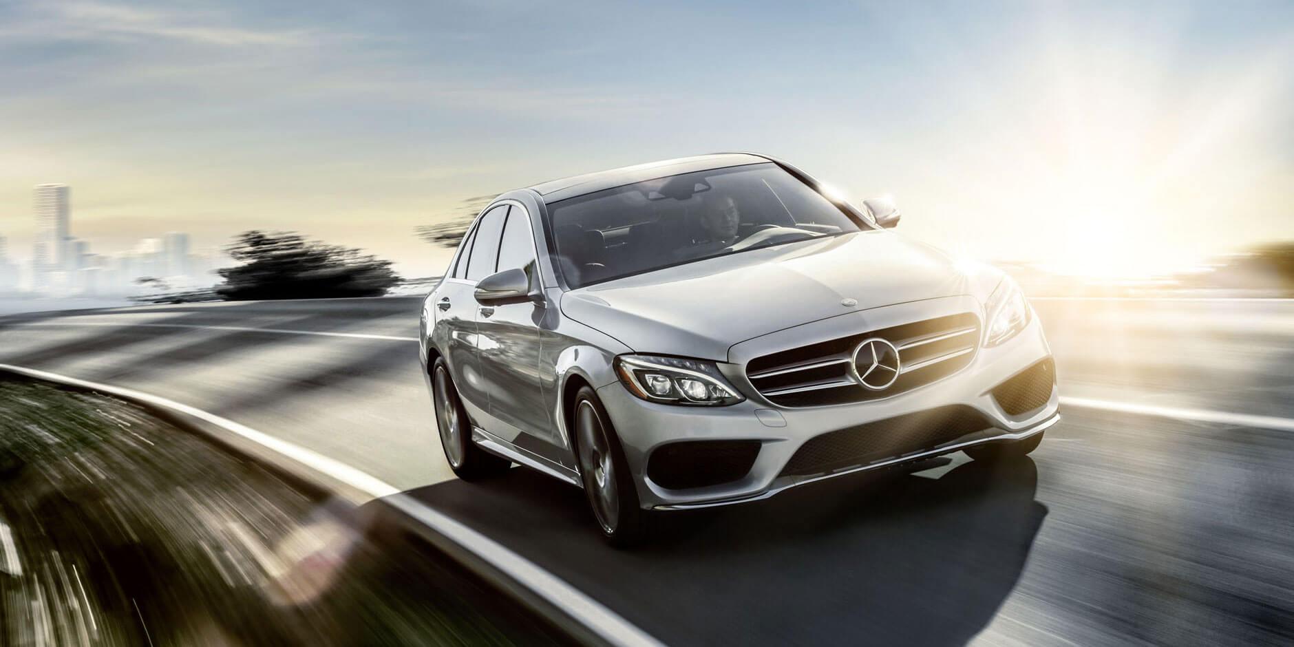 2017 Mercedes-Benz C-Class Front View