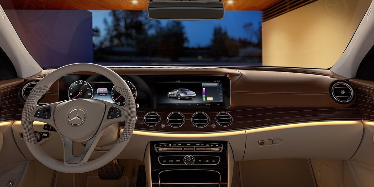 2017 Mercedes-Benz E-Class Sedan front interior features