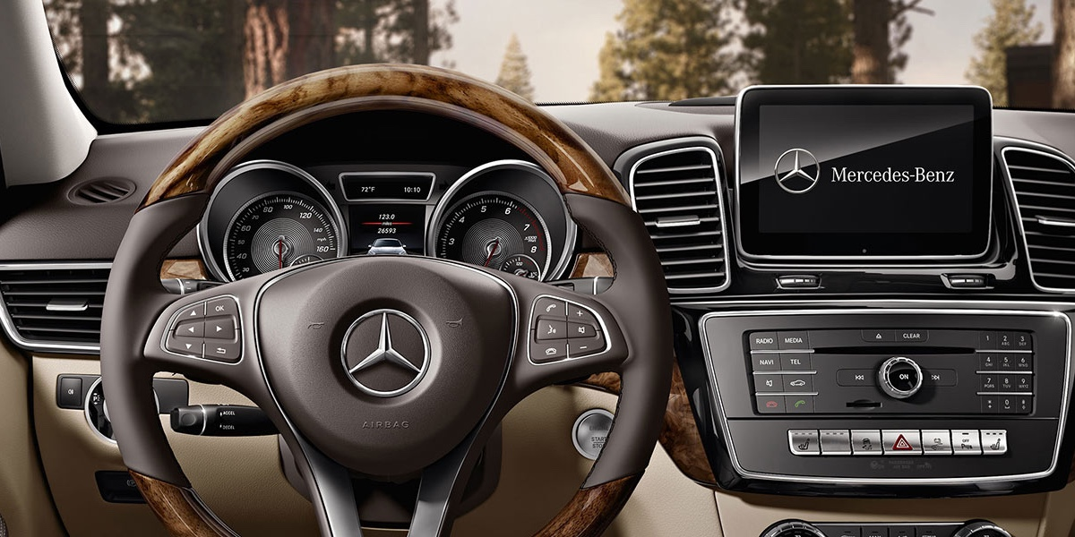 2017 Mercedes-Benz GLE interior features