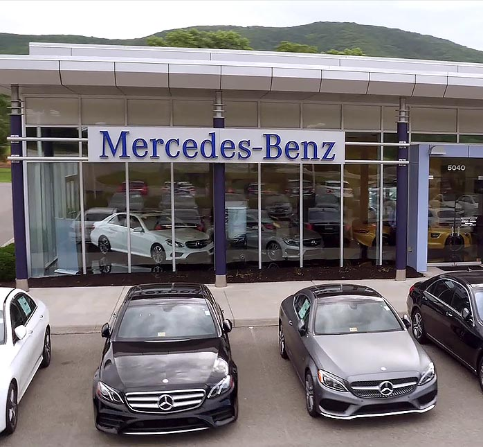 Mercedes benz dealer serving christianburg princeton for Mercedes benz dealers in new jersey
