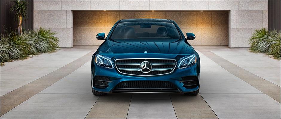 All New 2017 Mercedes-Benz E-Class Sedan Blue