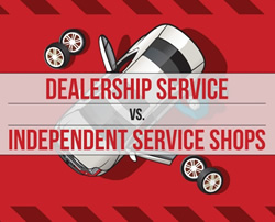 Dealership Service vs. Independent Shops