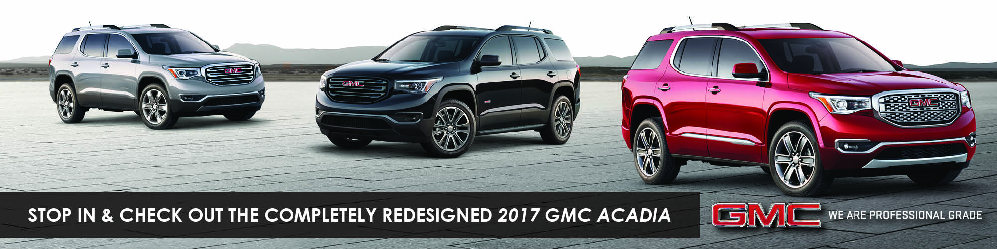 The Completely Redesigned 2017 GMC Acadia