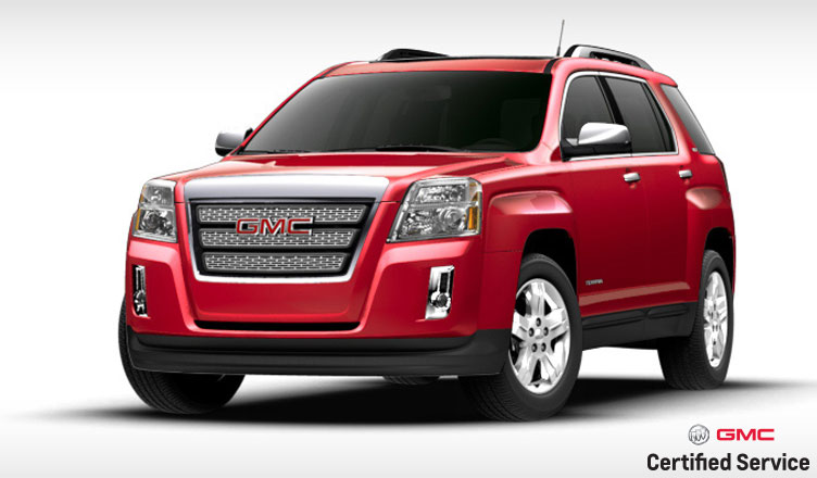 gmc terrain rust recall mills motors buick gmc. Black Bedroom Furniture Sets. Home Design Ideas