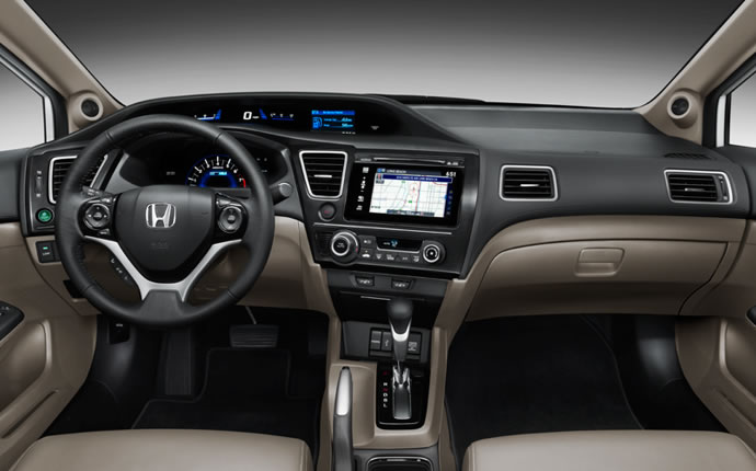 How many miles to the gallon does a 2014 honda civic get for Honda civic miles per gallon