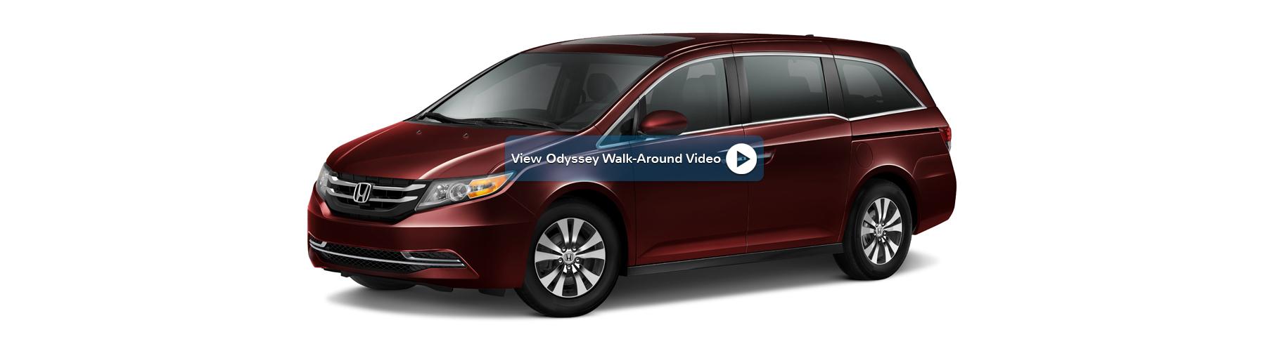 2016 Honda Odyssey New England Honda Dealers