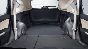 The honda cr v wins when it comes to cargo space for Honda hrv cargo space