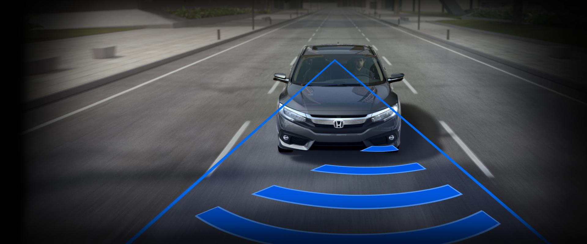 Honda Civic Collision Mitigation Braking System