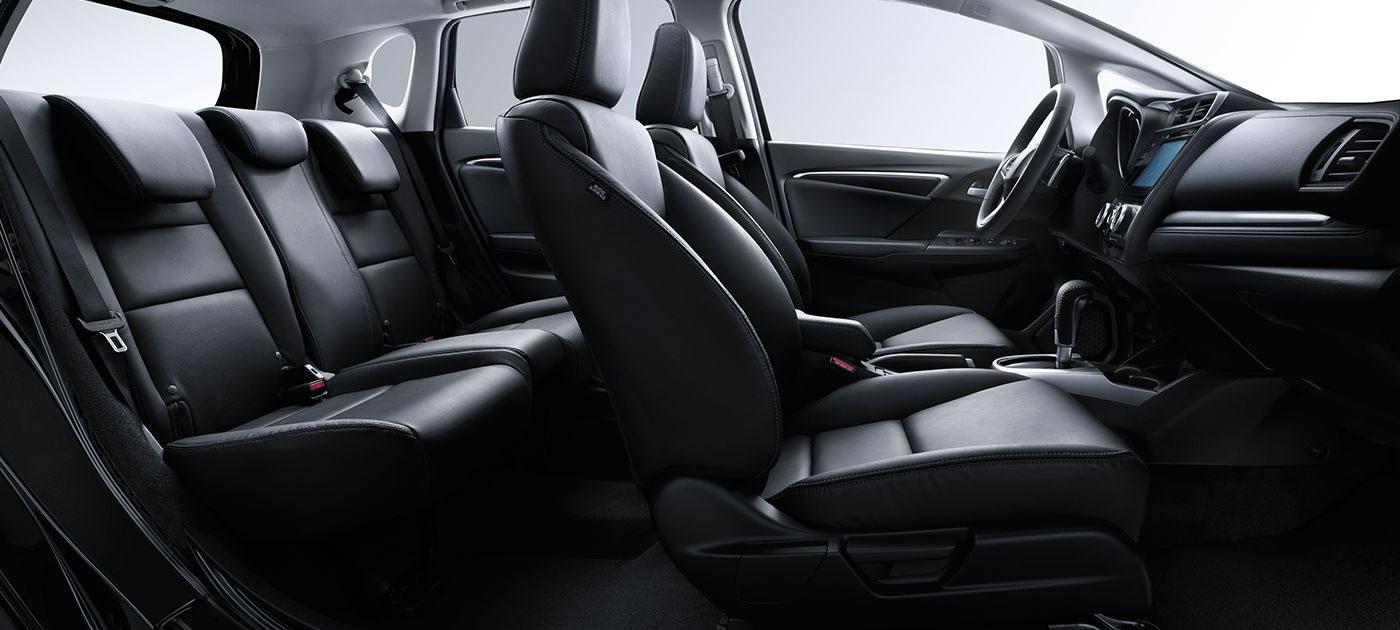 Honda Fit Leather Interior