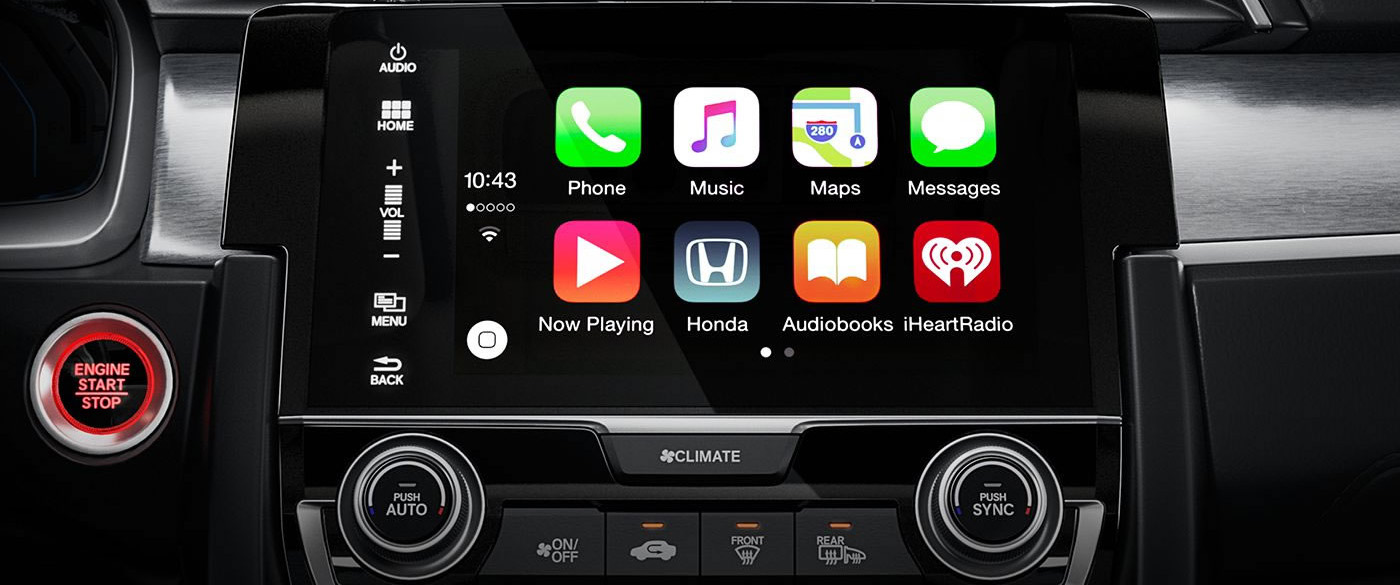 Honda Civic Apple Car Play