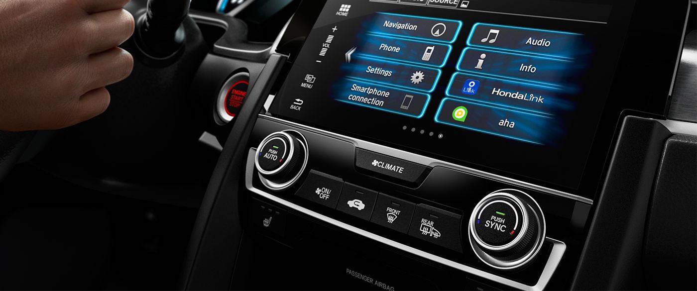 Honda Civic Auto Climate Control