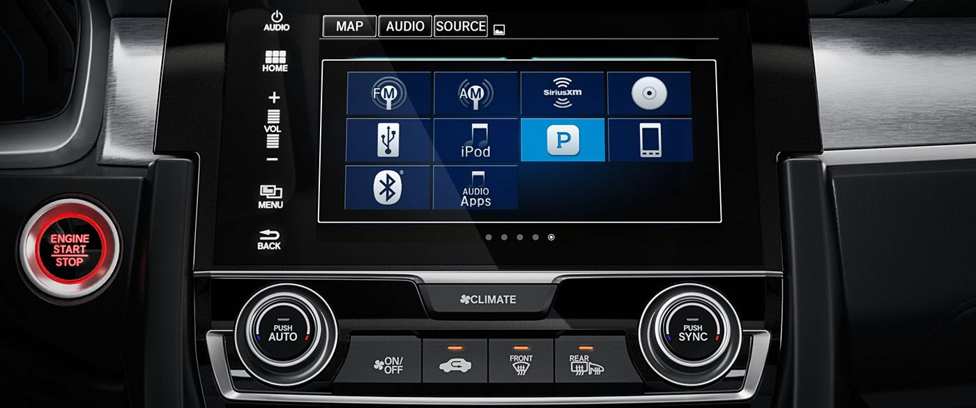 Honda Civic Radio