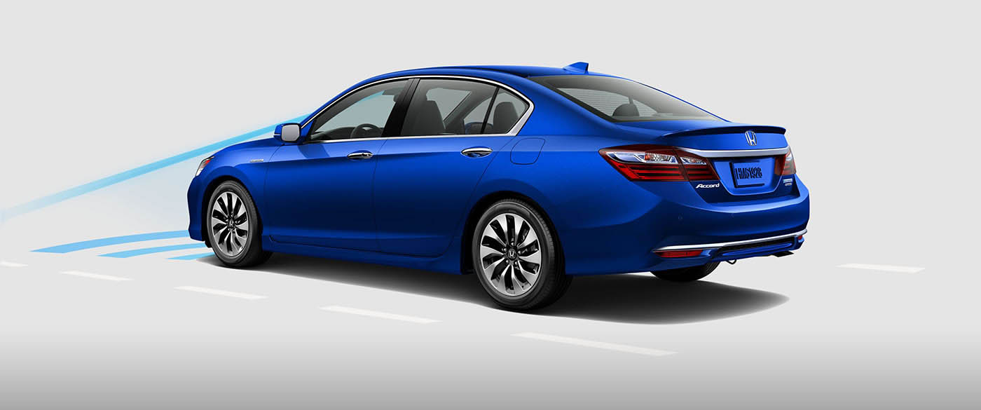 Honda Accord Hybrid Collision Mitigation Braking System