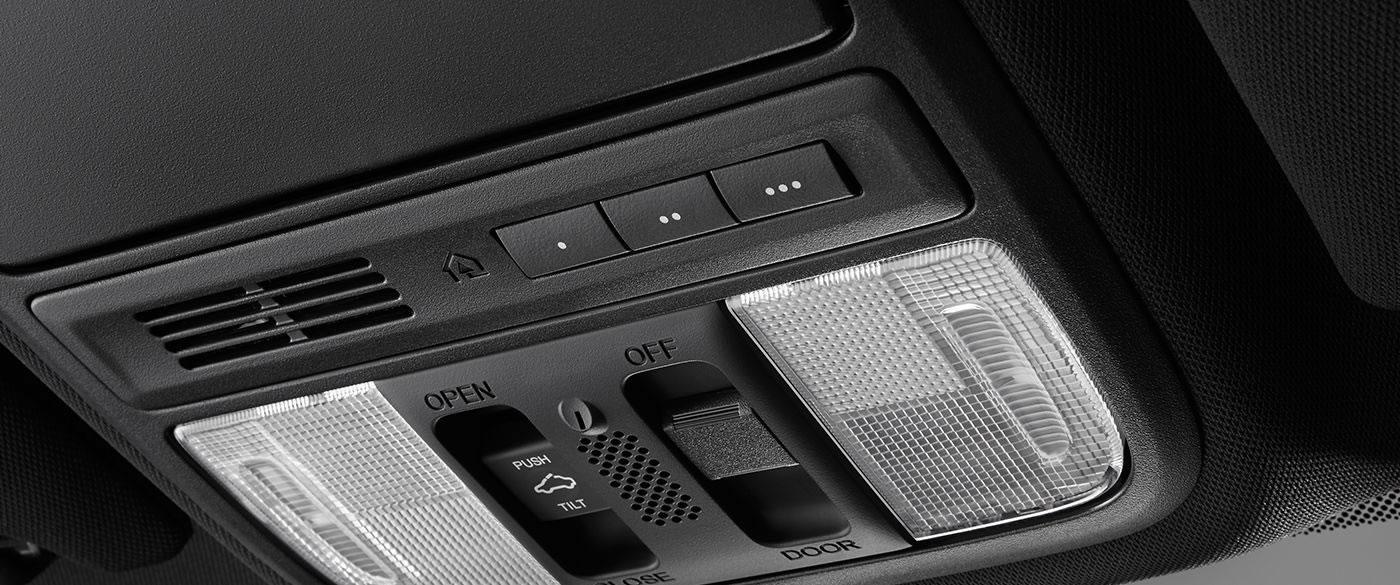 Honda Accord Hybrid Homelink System