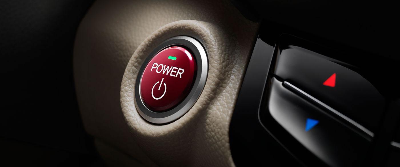 Honda Accord Hybrid Push Button Start