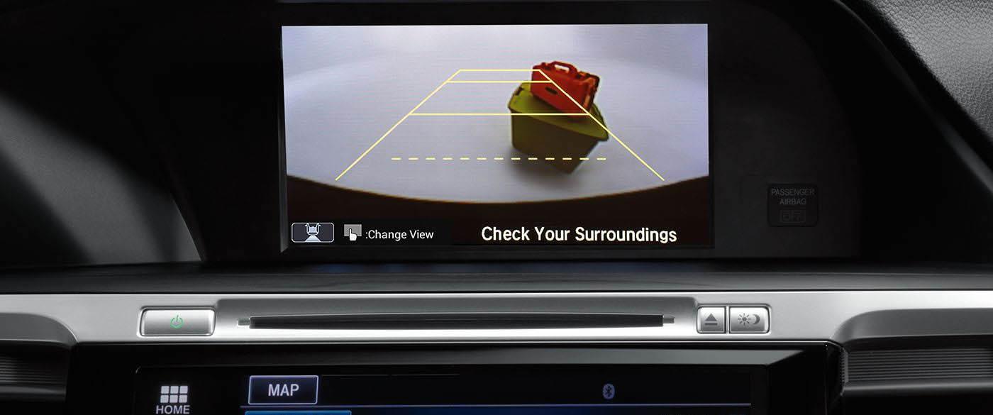 Honda Accord Hybrid Rearview Camera