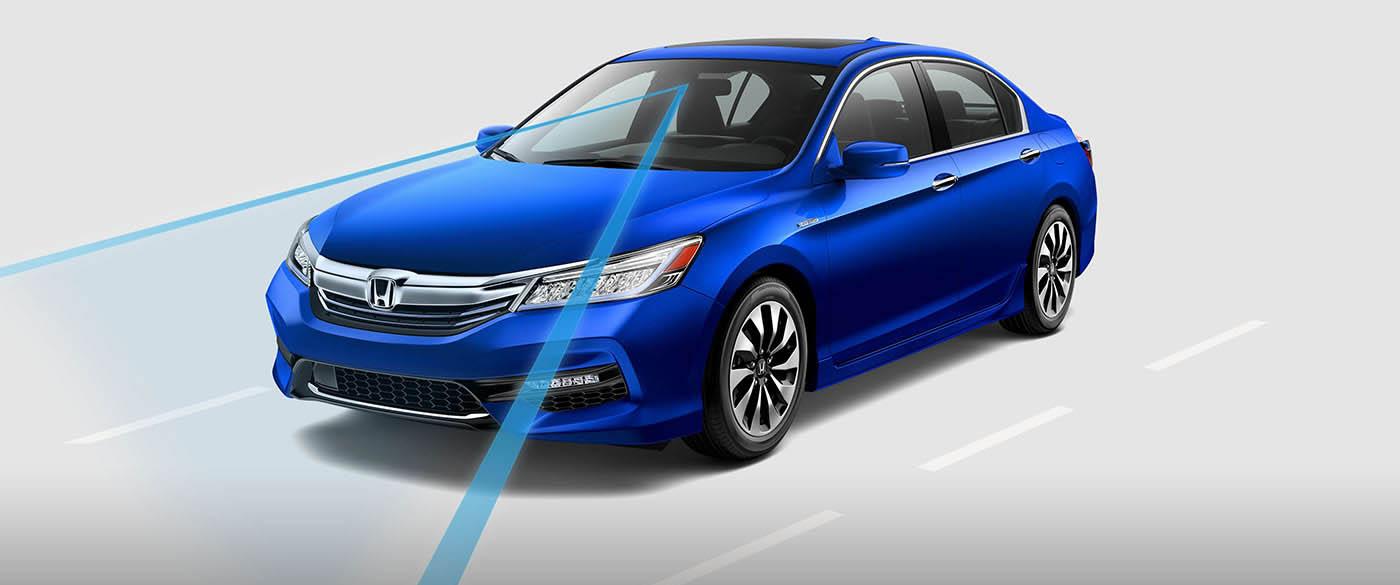Honda Accord Hybrid Road Departure Mitigation System