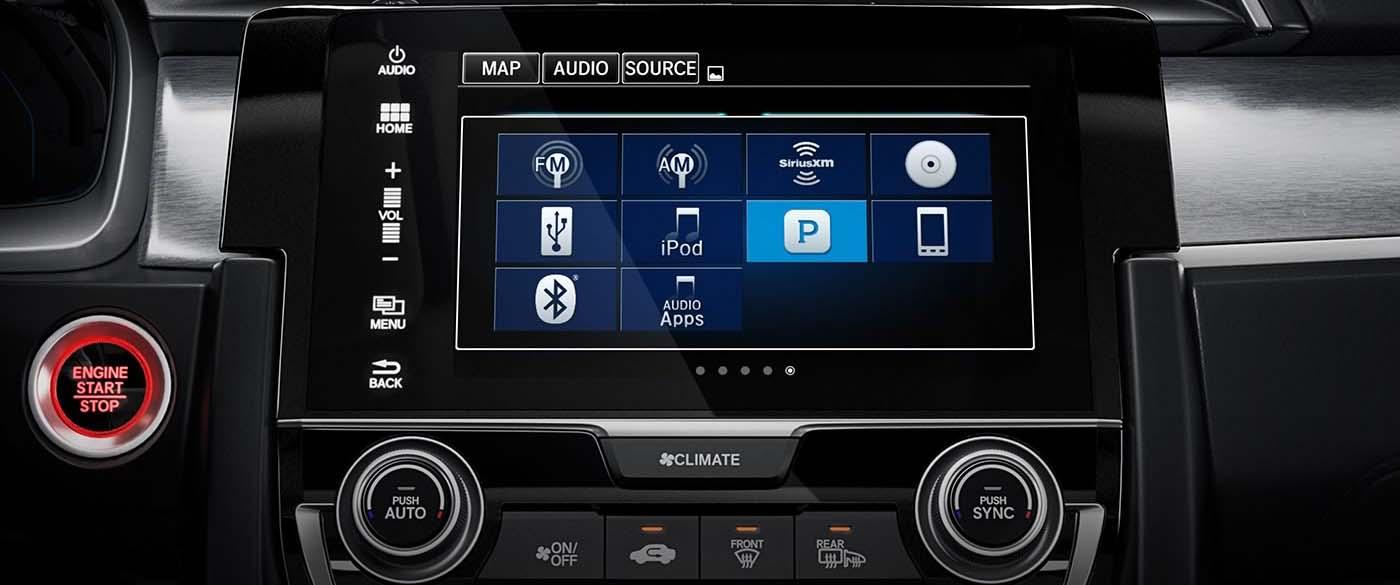 Honda Civic Hatchback Display Screen