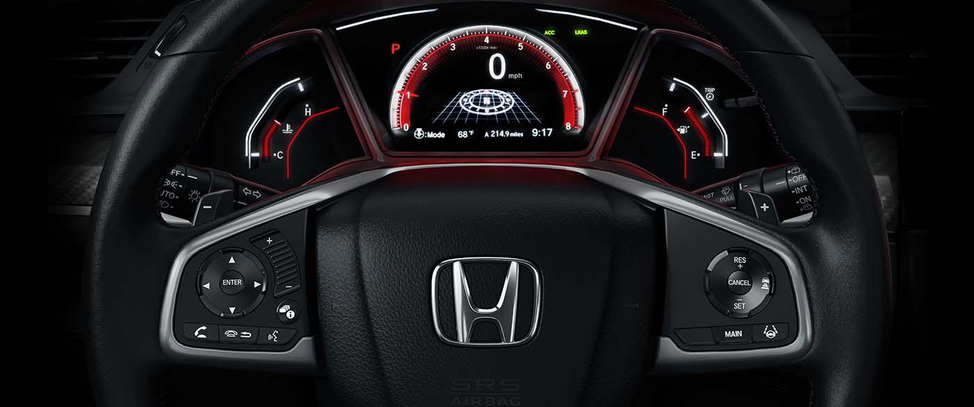 Honda Civic Hatchback Steering Wheel