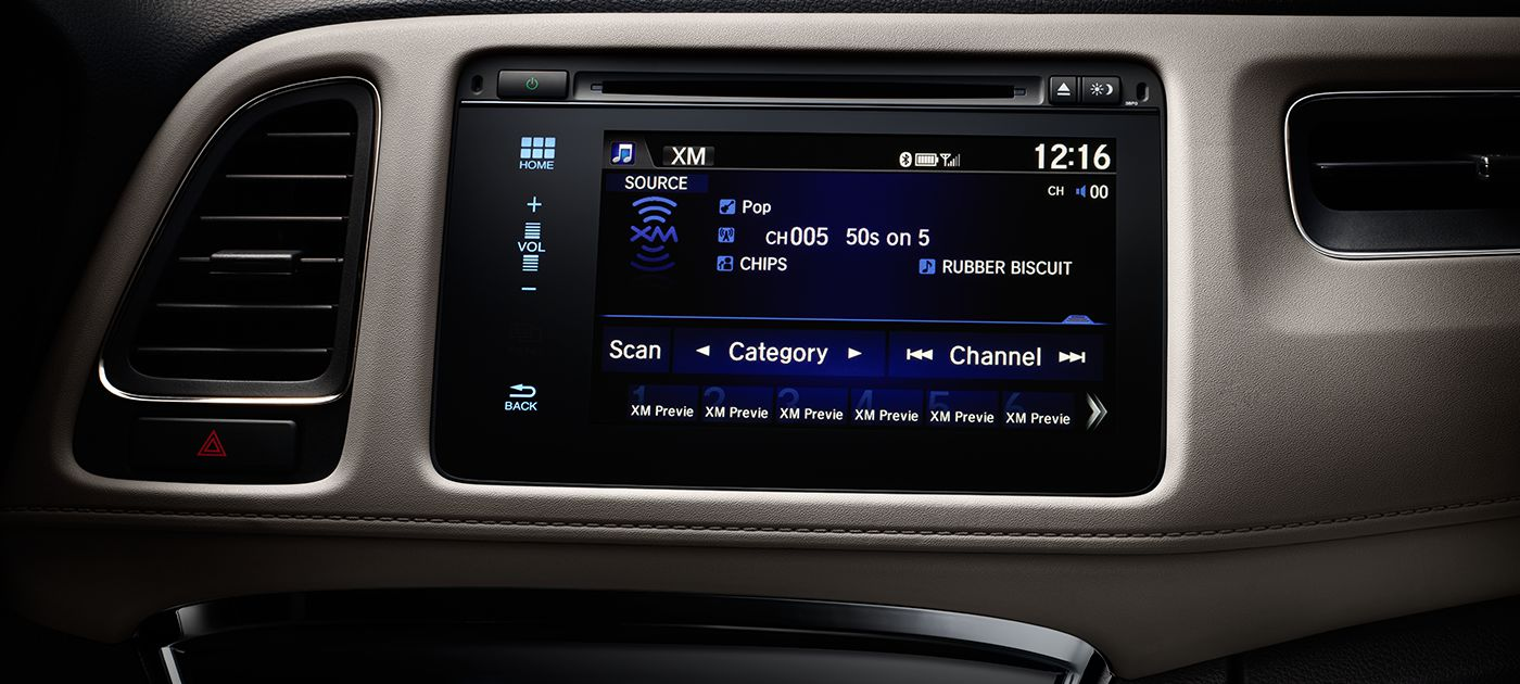 Honda HR-V Radio Options