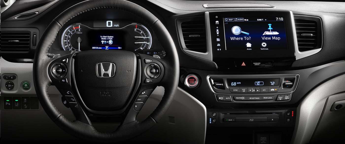 Honda Pilot Navigation