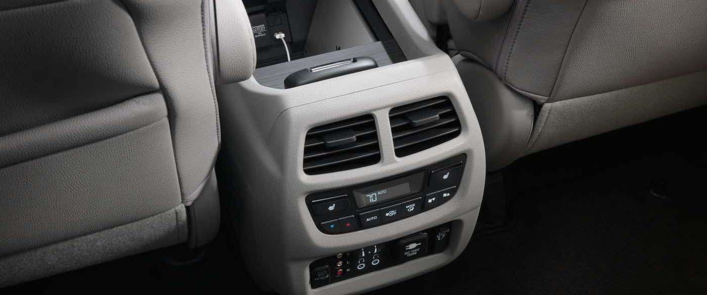 Honda Pilot Rear Console USB Outlets