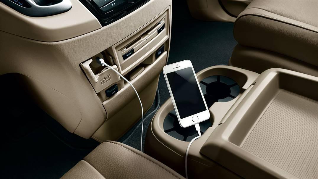 2017 Honda Odyssey Audio Inputs