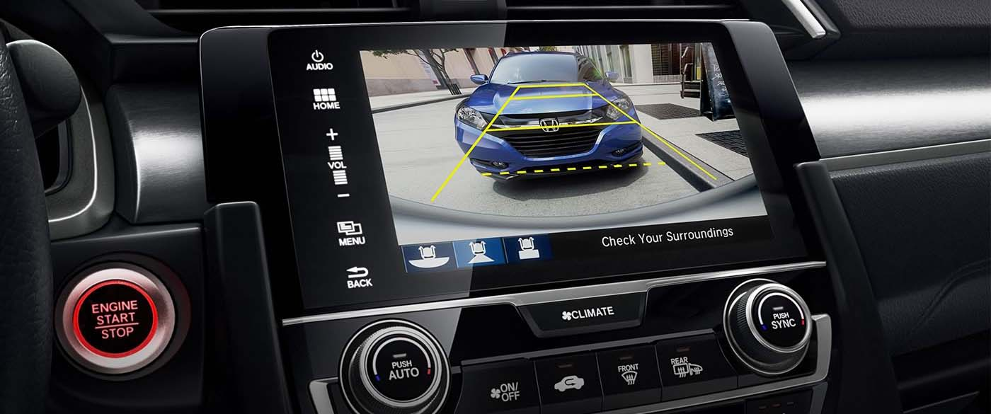 Honda Civic Hatchback Rearview Camera