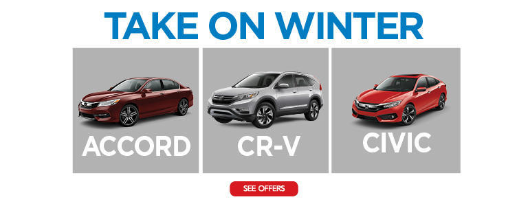 Take On Winter With New England Honda Dealers