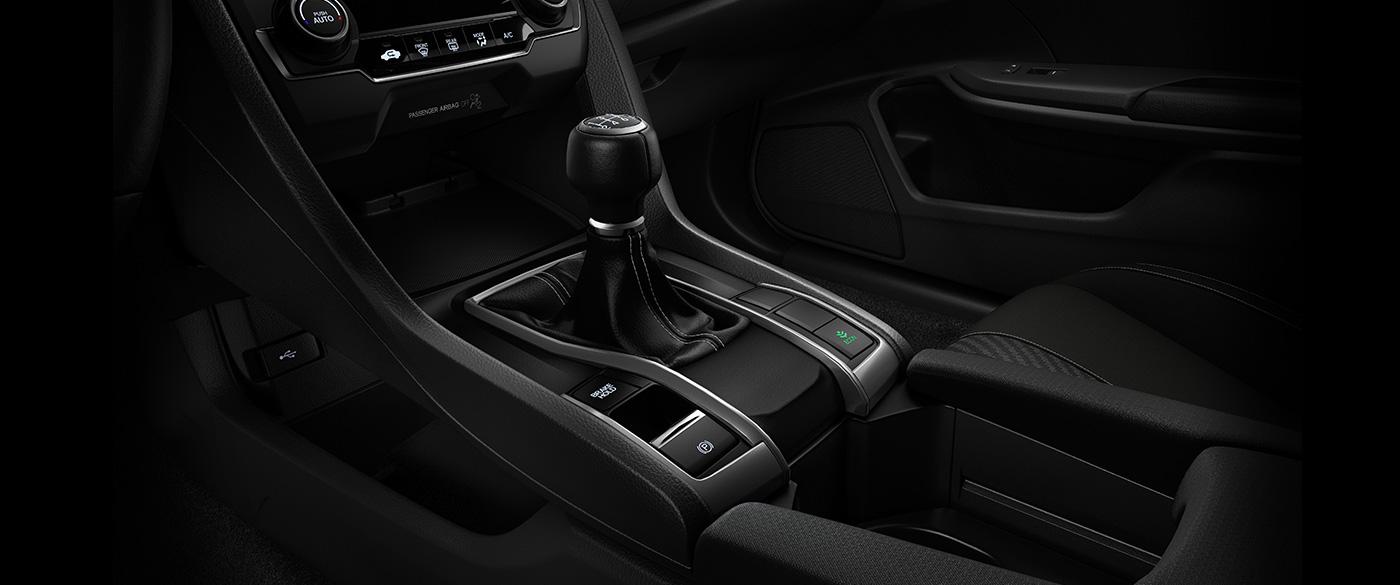 2017 Honda Civic Hatchback ECON button