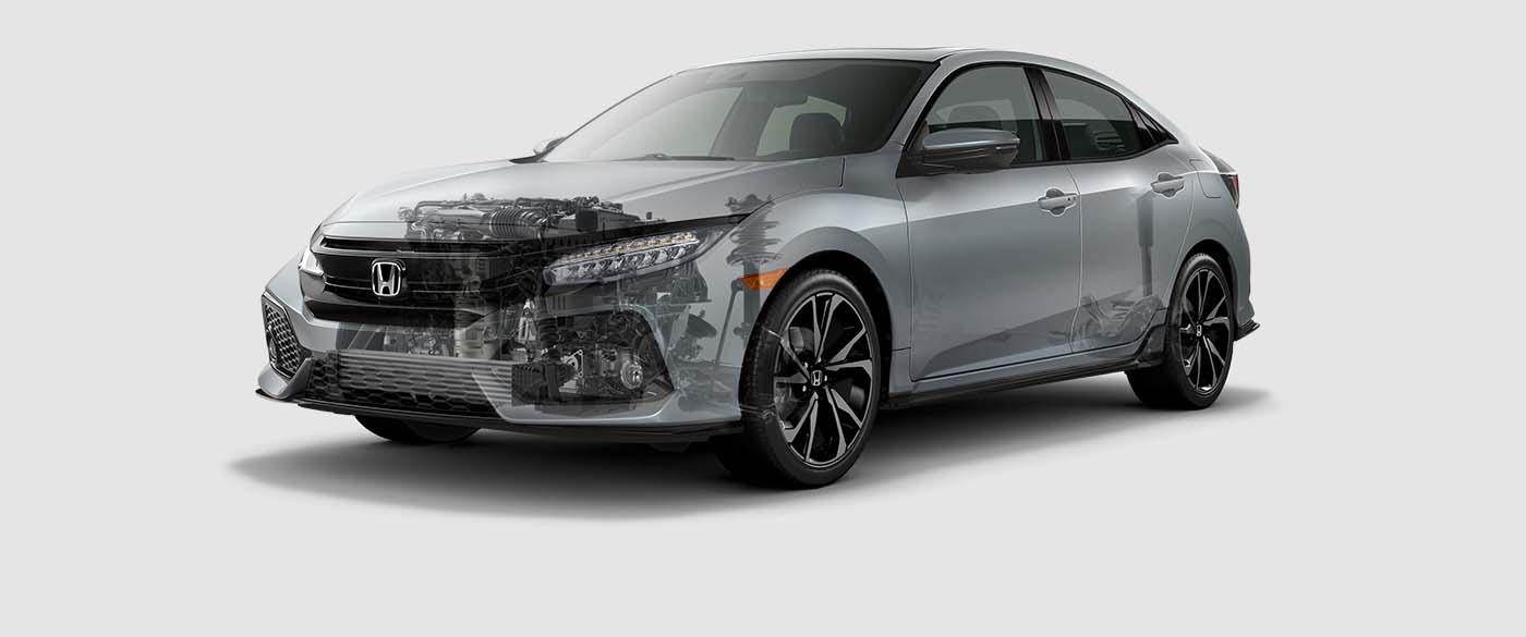 2017 Honda Civic Hatchback Engine Overview