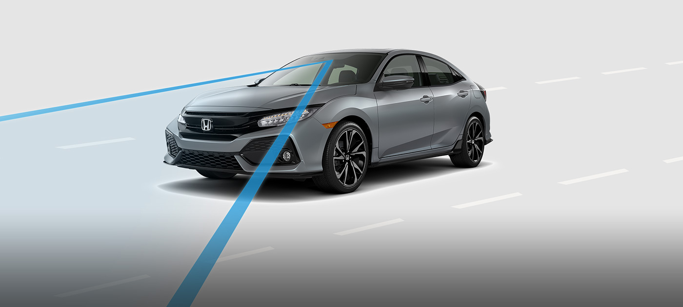 Explore the advanced 2017 honda civic hatchback safety for Honda civic safety