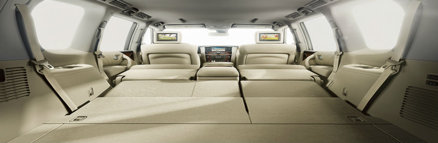 Nissan Pathfinder Interior Room