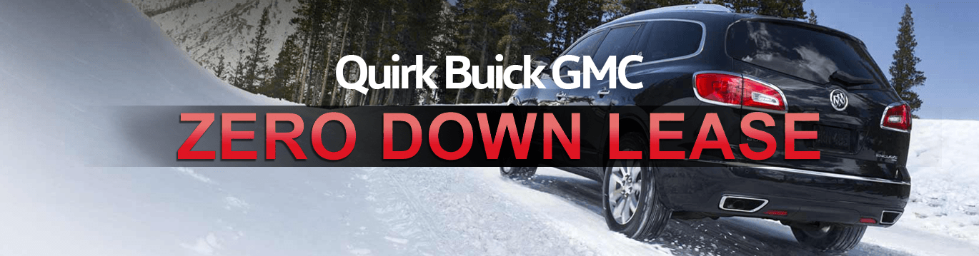 Buick GMC Zero Down Lease Offers | Quirk Buick GMC in Manchester NH