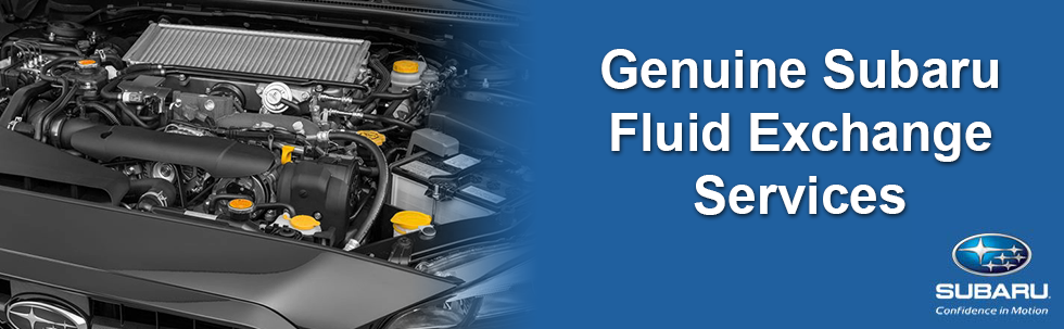 Subaru Fluid Exchange Services in Braintree MA