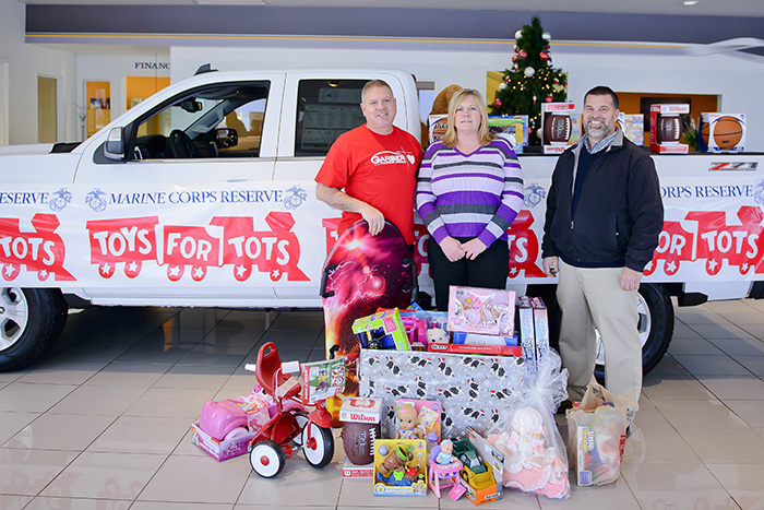 Garber Toys for Tots Donors