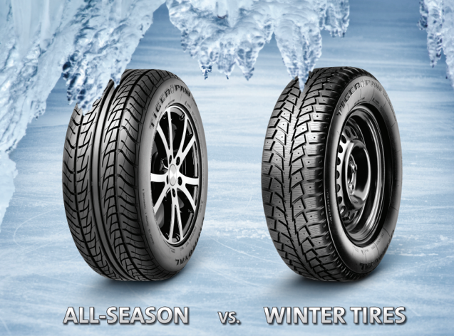 Winter Tires at Sherwood Park Toyota