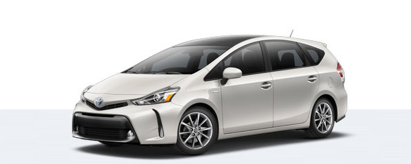 2017 Toyota Prius V Overview at Sherwood Park Toyota
