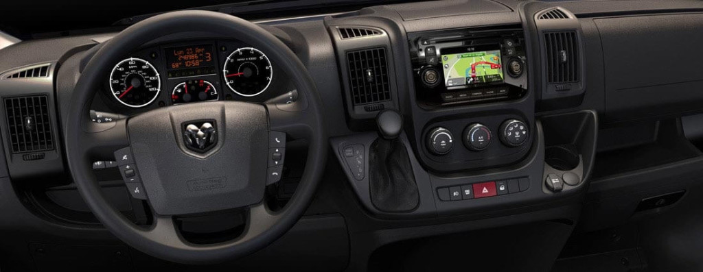 2016 Dodge Ram 1500 interior