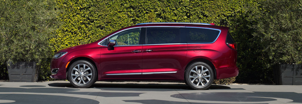 2017 Chrysler Pacifica profile