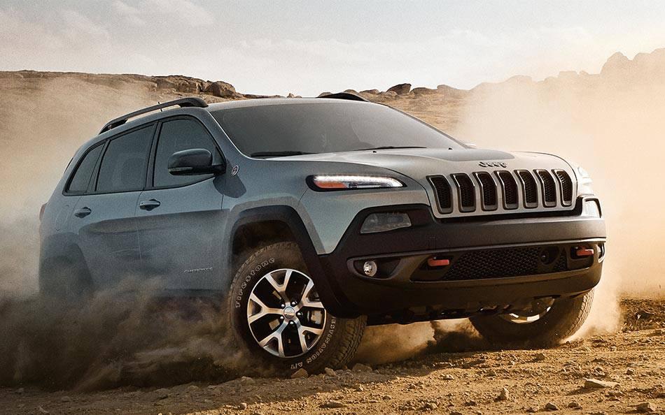 2016 Jeep Cherokee desert