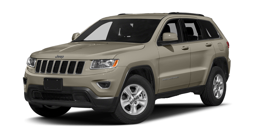 Jeep Grand Cherokee On White Background