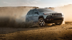 2016 Jeep Cherokee dusty