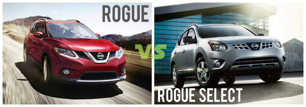 2015 Nissan Rogue Vs 2015 Nissan Rogue Select U2013 Whatu0027s The Difference? |  Sorg Nissan