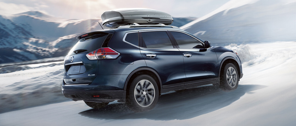 2016 Nissan Rogue mountains