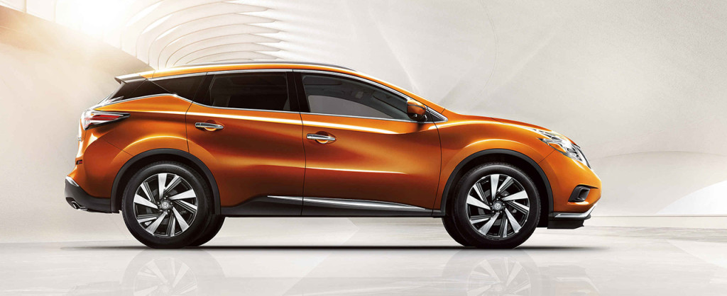 2016 Nissan Murano side view