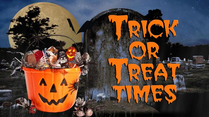 Halloween 2016 Warsaw In Area Trick Or Treat Times