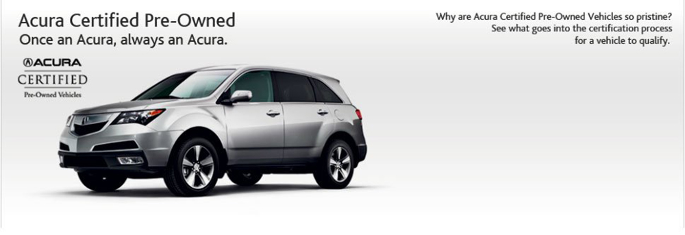 Certified PreOwned Benefits Springfield Acura - Pre own acura