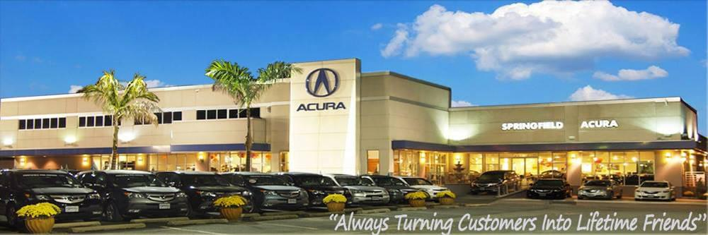 Springfield Acura Dealership Banner